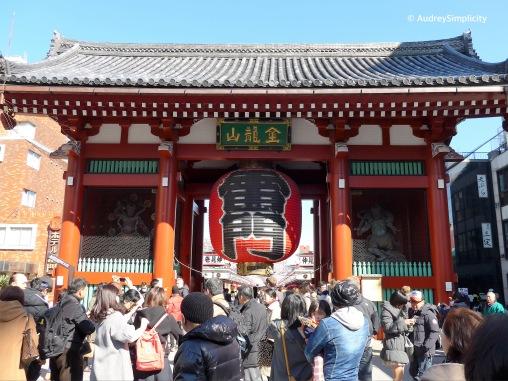Sensoji's Thunder Gate