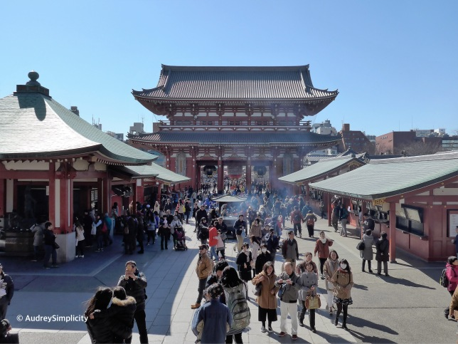 Inside of Sensoji
