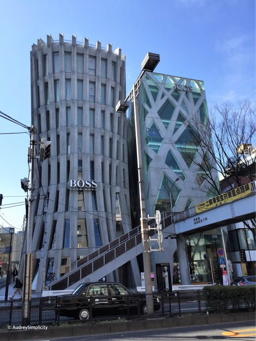Hugo Boss Store at Harajuku taken by AudreySimplicity