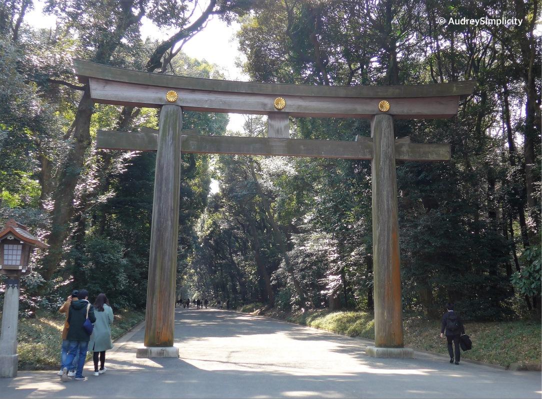 Entrance to Meji Shrine
