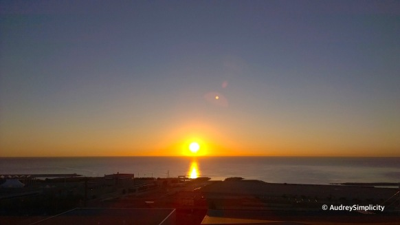 Sunrise view from Level 13