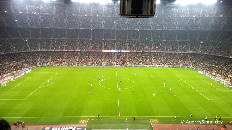 FC Barcelona match taken by AudreySimplicity