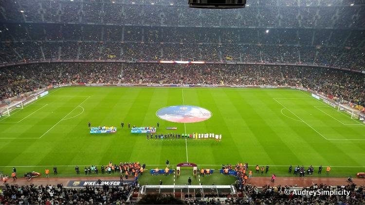 FC Barcelona match taken by AudreySimplicity