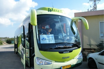 Tour Bus at Israel