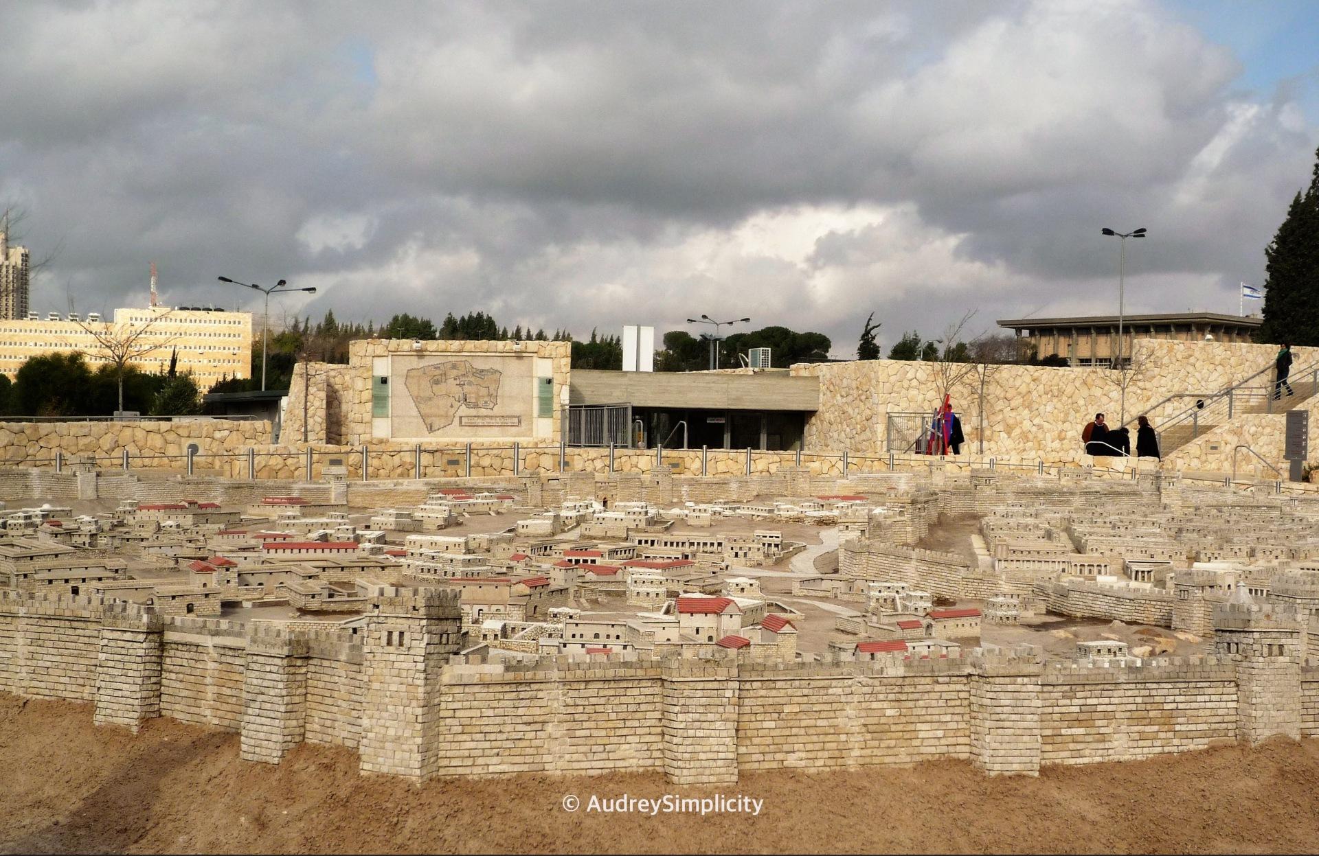 Jerusalem Second Temple Model