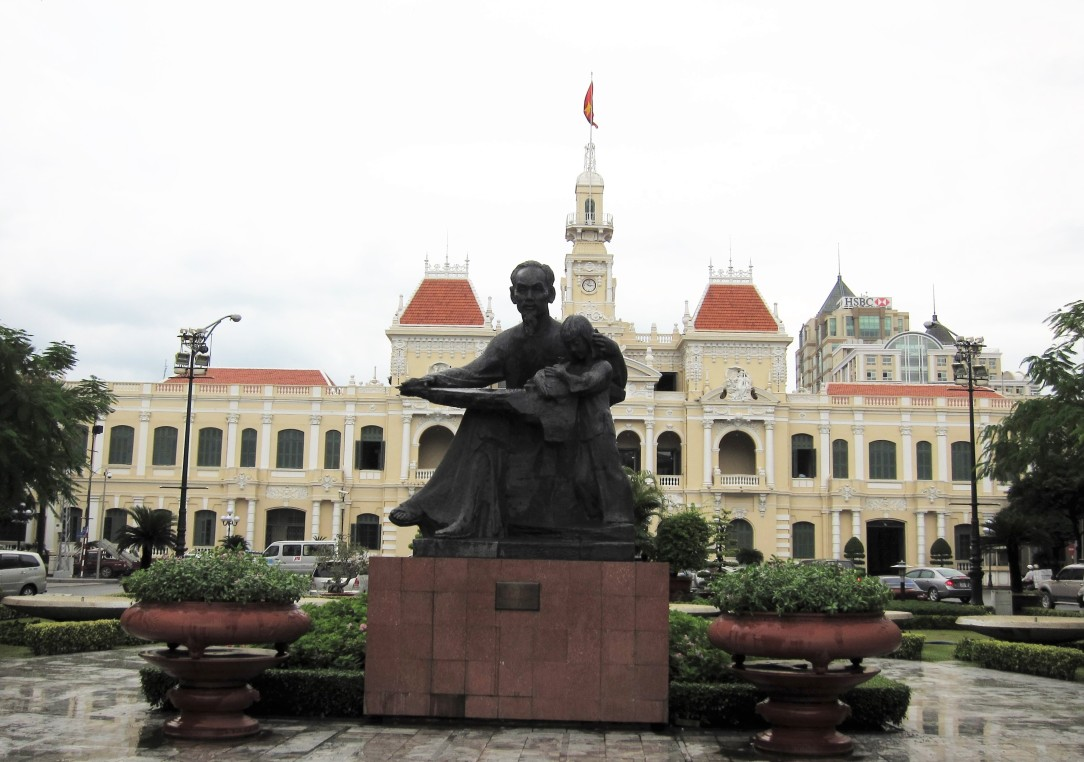 HCMC People's Committee Building Square