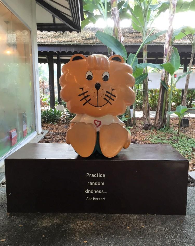Singa Mascot