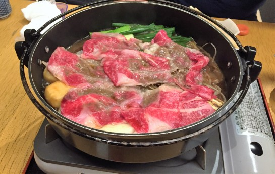 5 Sukiyaki for Dinner.JPG