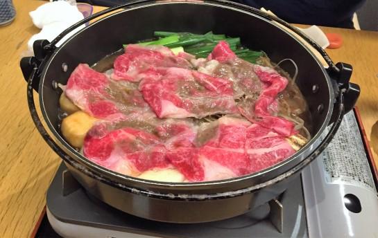 5 Sukiyaki for Dinner.JPG