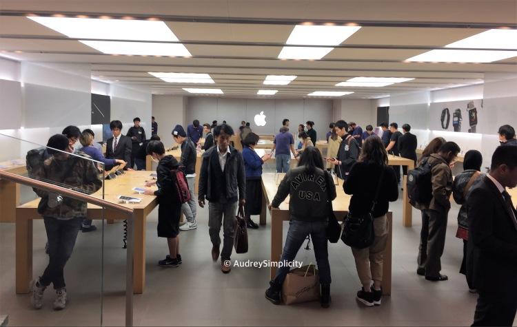 Apple Store at Shinsaibashi