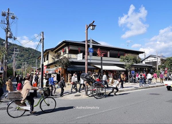 Street scene at Arashiyama taken by AudreySimplicity