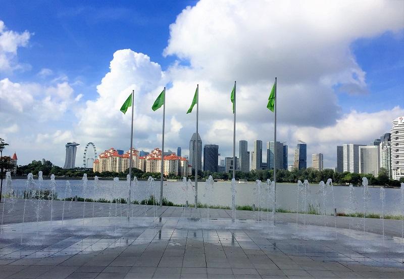 Marina Cityscape by AudreySimplicity