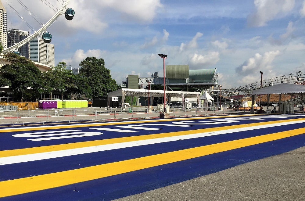 Singapore F1 Track