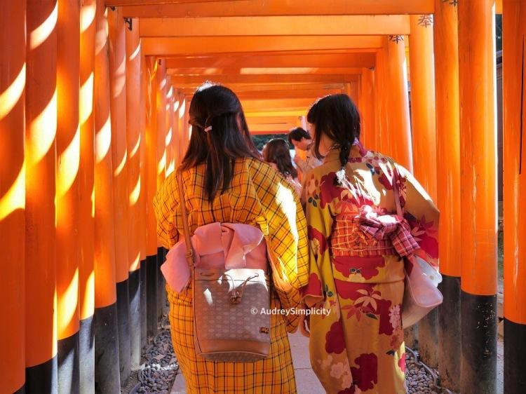 Japanese Girls at Inari