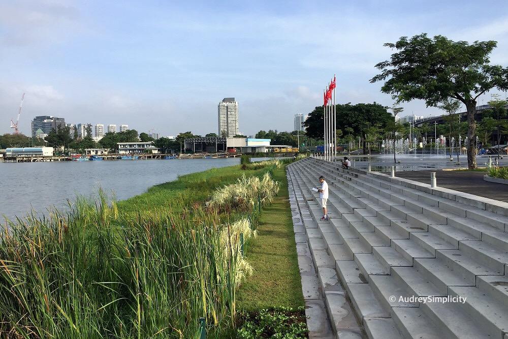 Singapore Stadium Walk