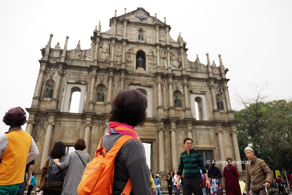 Ruins of St Paul's Macau