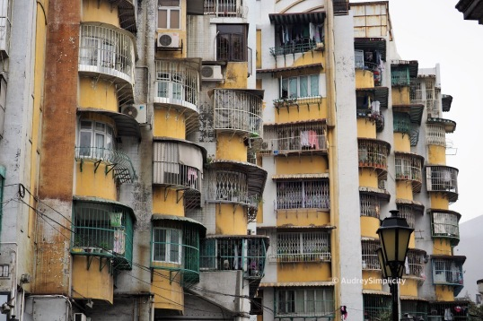 Residential area of Macau Peninsula
