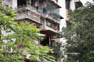 Residential building of Macau Peninsula