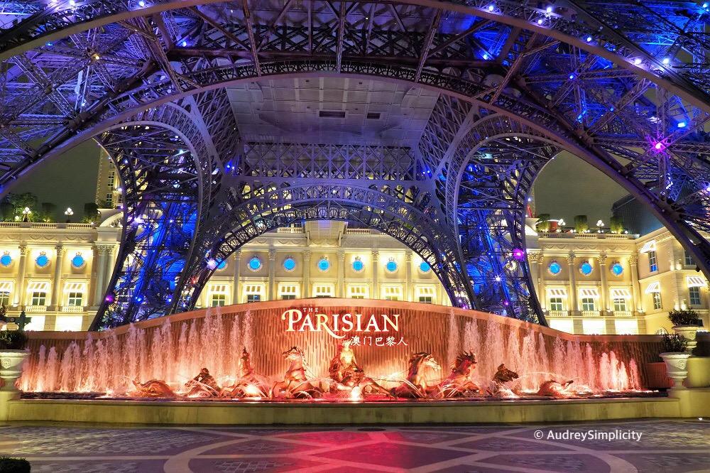 Parisian Cotai Strip Macau