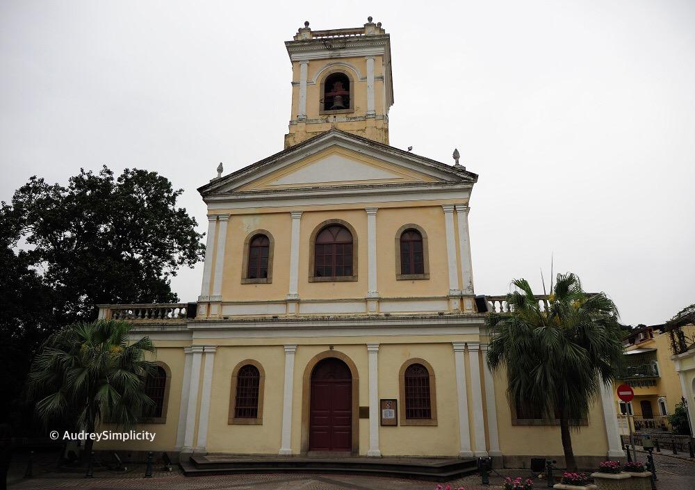 Macau Our Lady of Carmo Church