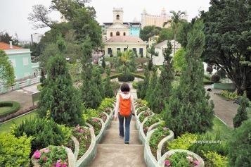 Carmo Garden, Taipa, Macau
