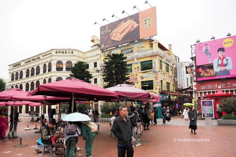 Macau Taipa Rua do Cunha
