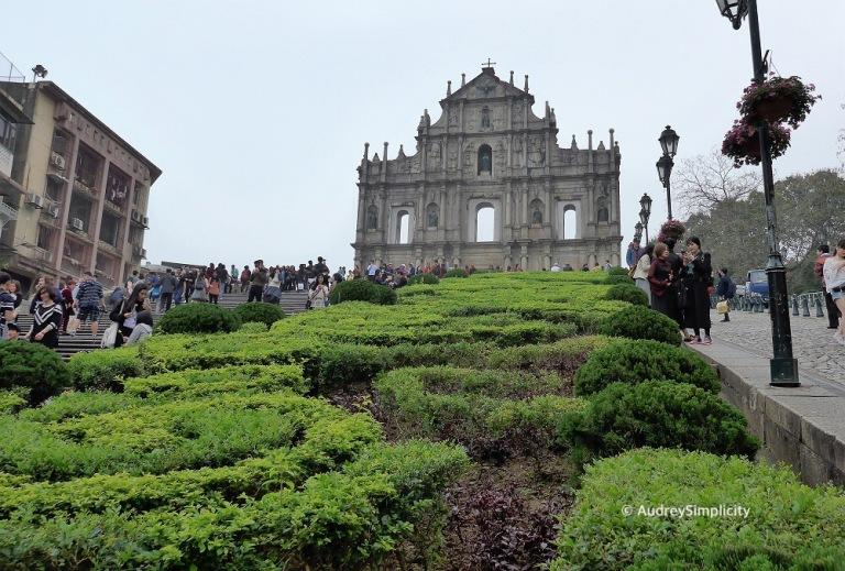 Macau Ruins of St Paul