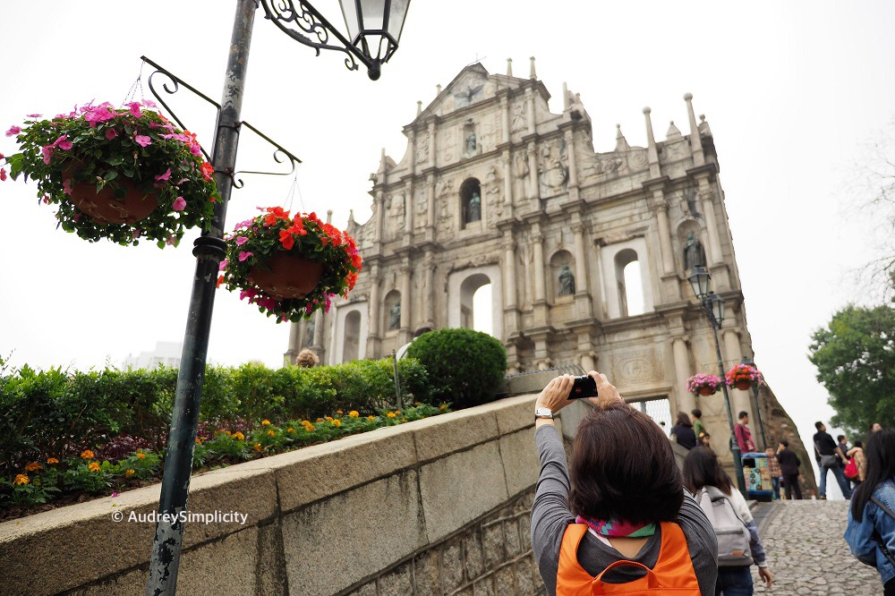 Macau Ruins of St Paul