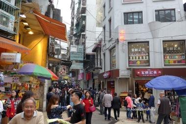 Streets of Macau Peninsula