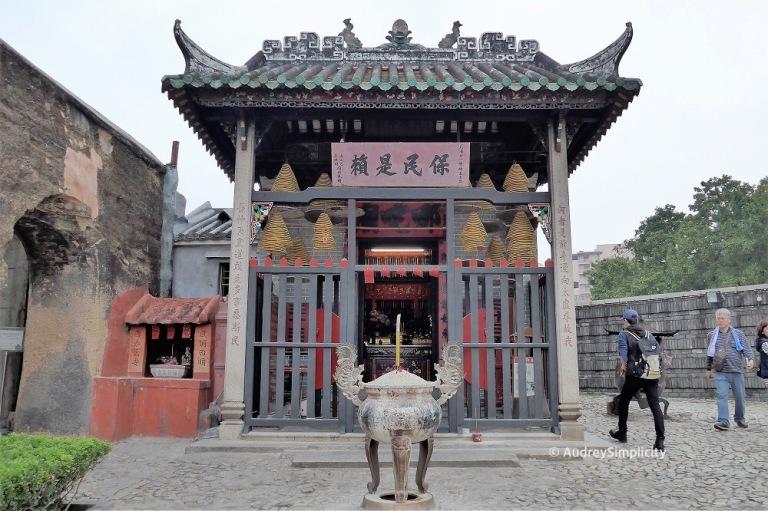 Macau Na Tcha Temple