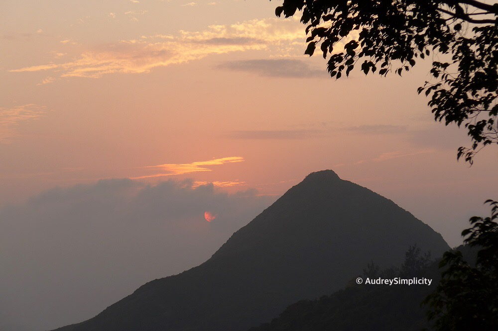 Hong Kong Peak Sunset