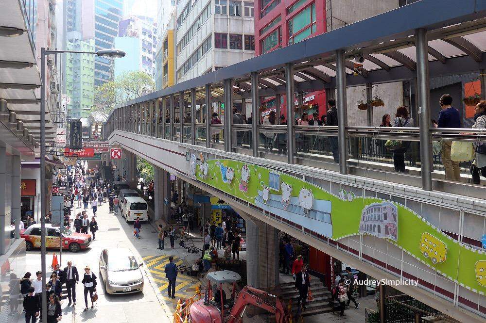 Hong Kong Mid-Levels Escalators