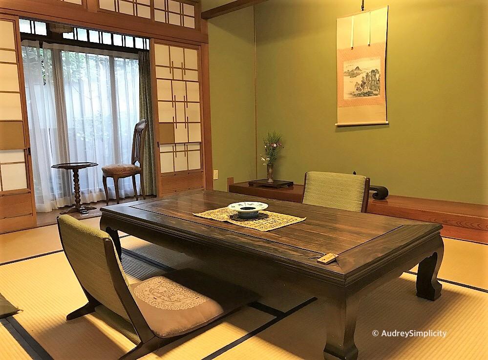 Ryokan hotel, Beppu, Oita, Kyushu