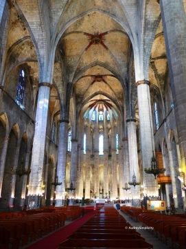 Barcelona - Basilica de Santa Maria Del Mar
