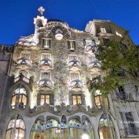 Autumn in Barcelona - Gaudi's Casa Batllo