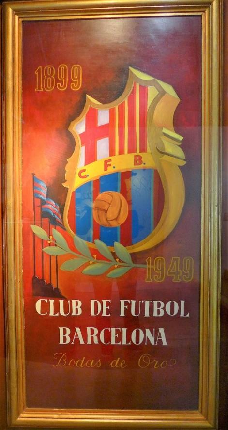 FC Barcelona Anniversary Commemorative Poster
