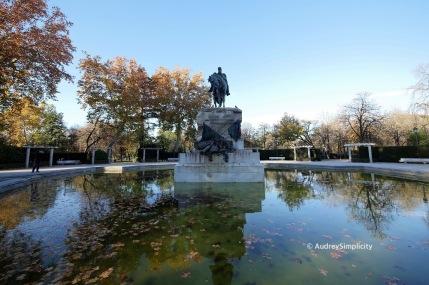Madrid El Retiro Park