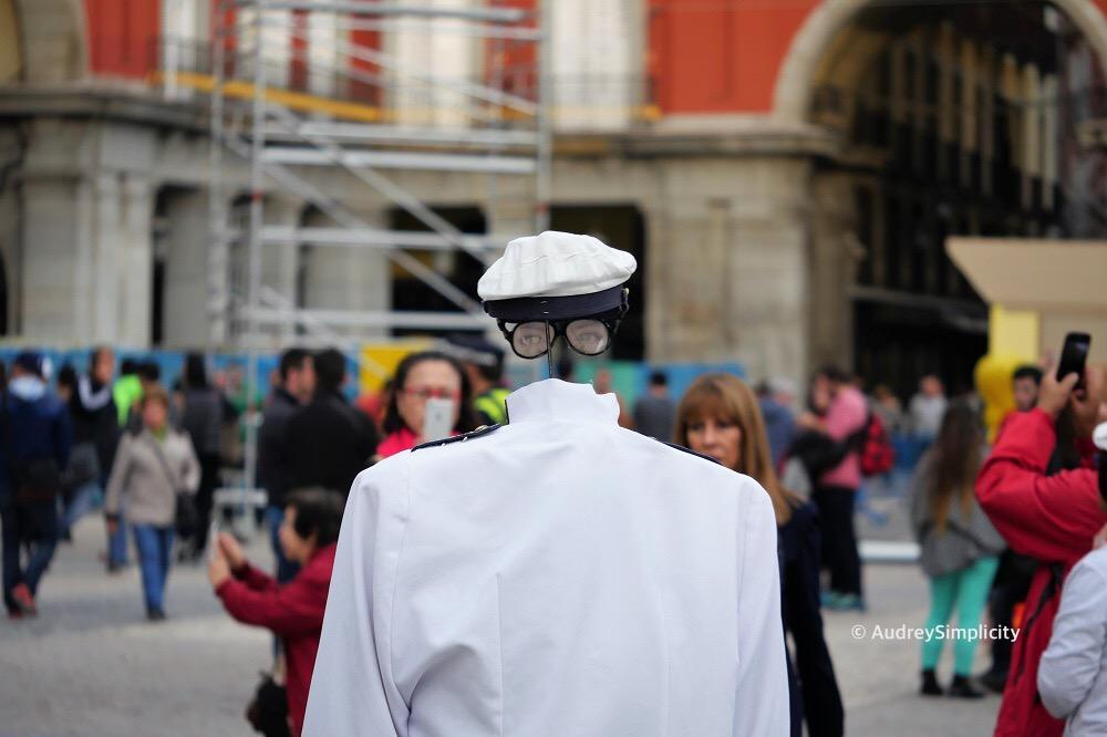 Madrid Street Performance