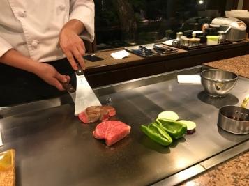 Teppanyaki Dinner at Miyahiku, Miyazaki