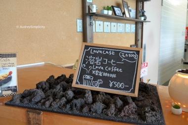Lava Cafe at Hakone, Japan