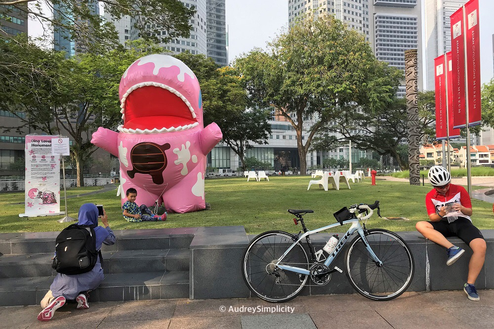 Empress Place Lawn Singapore