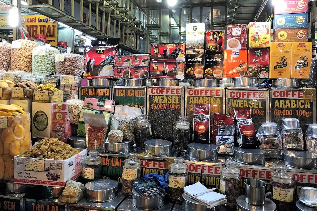 Ben Thanh Market - Coffee