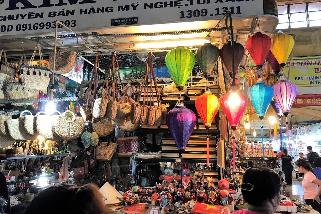 Ben Thanh Market HCMC VN